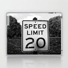 Speed Limit  Laptop & iPad Skin