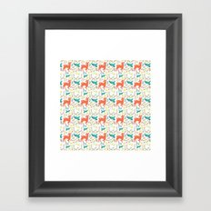 Forest Animals Framed Art Print