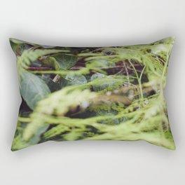 Buddha's Backyard Rectangular Pillow