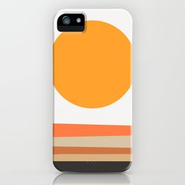 Abstract Landscape 10A iPhone Case