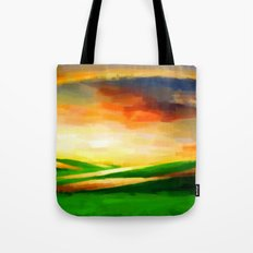 Colorful Sky - Painting Style Tote Bag