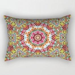 Persian kaleidoscopic Mosaic G508 Rectangular Pillow