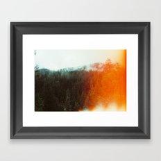 Trinity Alps Framed Art Print