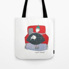 i can't move Tote Bag