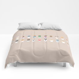 Occupations Alphabet Comforters
