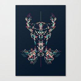 Space Viking Canvas Print