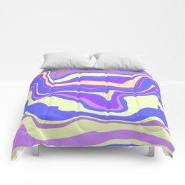 Rainbow Waves Comforters