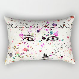 abstarct art in watercolours Rectangular Pillow