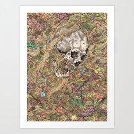 Entschlafen Art Print