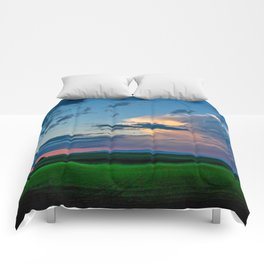 Montana Sunset Comforters