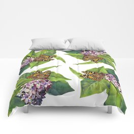 Butterfly & Lilacs Comforters