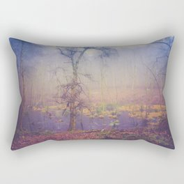 SWAMPY FOREST 3 (everyday 05.01.2017) Rectangular Pillow