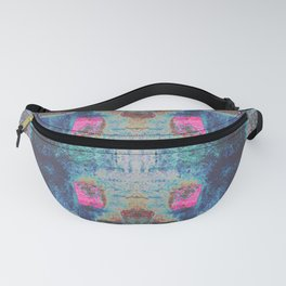 Toppled Ceramic Tiling Infared Style Fanny Pack