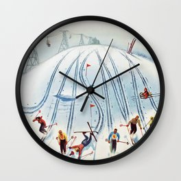 Nízke Tatry Wall Clock