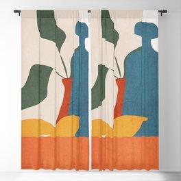 Minimalist Still Life Art Blackout Curtain