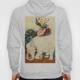 """The Elephant Pearl"" Fairy Tale Art by Edmund Dulac Hoody"