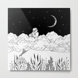 Moon River Metal Print