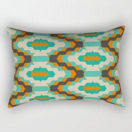 Ethnic winter pattern II Rectangular Pillow
