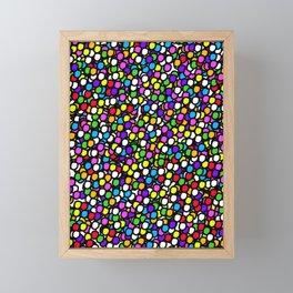 Bubble GUM Colorful Balls Framed Mini Art Print