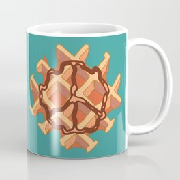 Belgium Peace Waffle Coffee Mug