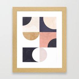 Geometric Moontime 1 Framed Art Print