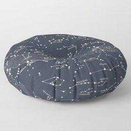 Carte du Ciel I Floor Pillow