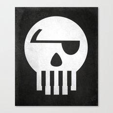 Music Piracy Canvas Print