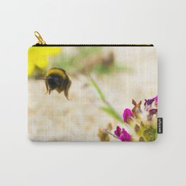 the flight of bumble bee on the bunes Carry-All Pouch