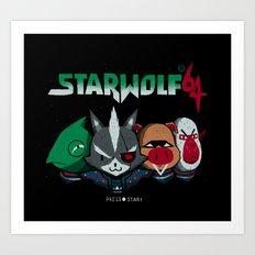 starwolf 64 Art Print
