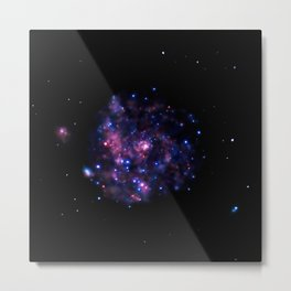 490. Chandra Embraces Hot 'Arms' of Pinwheel Galaxy Metal Print