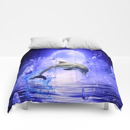 Dolphin & Butterflys Comforters