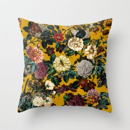 Exotic Garden V Throw Pillow
