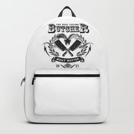 Butcher | Barbecue lovers gift  Backpack