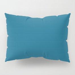 Dunn & Edwards 2019 Curated Colors Blue Velvet (Deep Blue) DET559 Solid Color Pillow Sham