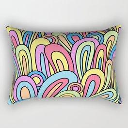 Full on swirl Rectangular Pillow