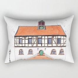 Timber-Framed House from Germany Rectangular Pillow