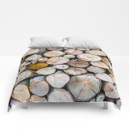 Logged Comforters