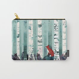 The Birches Carry-All Pouch