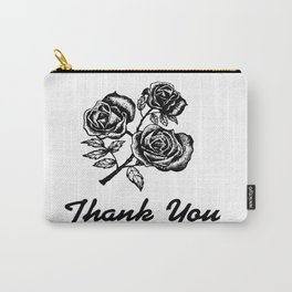 Thank You Roses Carry-All Pouch