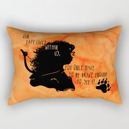 Our Fate Lives Within Us Rectangular Pillow