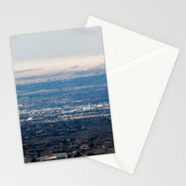 Albuquerque from the Mountains Stationery Cards