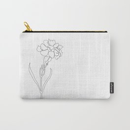 Carnation Lines Carry-All Pouch