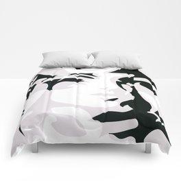 Hidden Faces Comforters