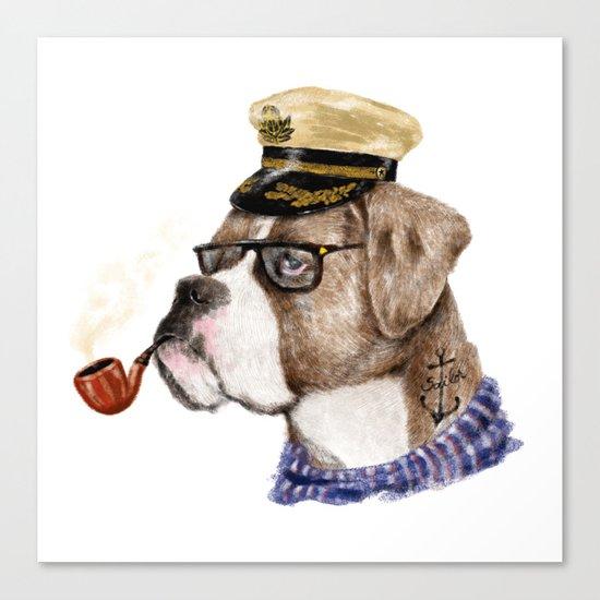 Mr.Boxer Canvas Print