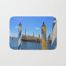 Vizcaya Barge Adventures Bath Mat