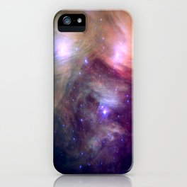 Galaxy : Pleiades Star Cluster NeBula iPhone Case