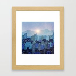 Lines in the mountains 04 Framed Art Print
