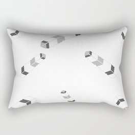 Embossedfeatherspat Rectangular Pillow