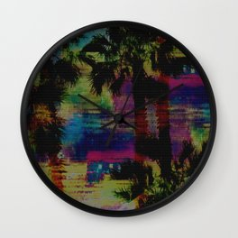 Lush Avenue Dark Wall Clock