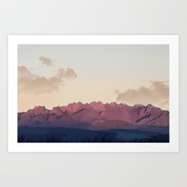 New Mexico Desert Art Print